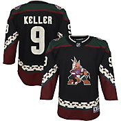NHL Youth Arizona Coyotes Clayton Keller #9 Red Replica Jersey