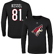 NHL Youth Arizona Coyotes Phil Kessel #81 Long Sleeve T-Shirt