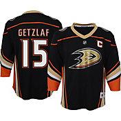 NHL Youth Anaheim Ducks Ryan Getzlaf #15 Black Replica Jersey