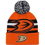 NHL Youth Anaheim Ducks Heritage Orange Cuffed Knit Beanie