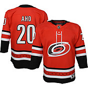 NHL Youth Carolina Hurricanes Sebastian Aho #20 Replica Home Jersey