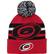 NHL Youth Carolina Hurricanes Heritage Cuffed Knit Beanie