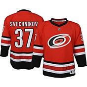 NHL Youth Carolina Hurricanes Andrei Svechnikov #37 Red Replica Jersey