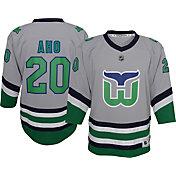 NHL Youth Carolina Hurricanes Sebastian Aho #20 Special Edition Grey Jersey