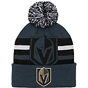 NHL Youth Las Vegas Golden Knights Heritage Grey Cuffed Knit Beanie