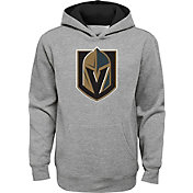 NHL Youth Vegas Golden Knights Prime Heather Grey Pullover Hoodie