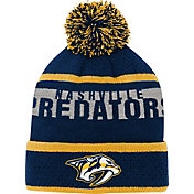 NHL Youth Nashville Predators Heritage Navy Cuffed Knit Beanie