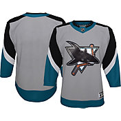 NHL Youth San Jose Sharks Special Edition Premier Grey Blank Jersey