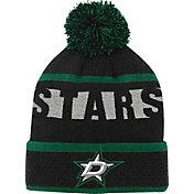 NHL Youth Dallas Stars Heritage Green Cuffed Knit Hat