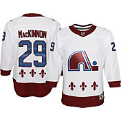 NHL Youth Colorado Avalanche Nathan MacKinnon #29 Special Edition White Jersey