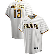 Nike Men's Replica San Diego Padres Manny Machado #13 Cool Base White Jersey