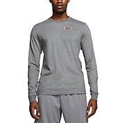 Nike Men's Brotherhood Dri-Fit Football Long Sleeve T-Shirt
