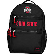 Nike Ohio State Buckeyes Utility Heat Black Backpack