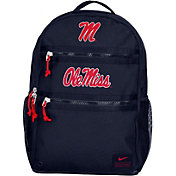 Nike Ole Miss Rebels Blue Utility Heat Backpack
