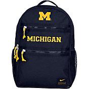 Nike Michigan Wolverines Blue Utility Heat Backpack