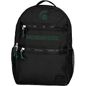 Nike Michigan State Spartans Utility Heat Black Backpack