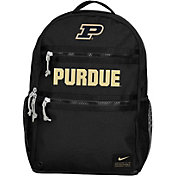 Nike Purdue Boilermakers Utility Heat Black Backpack