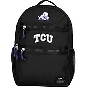 Nike TCU Horned Frogs Utility Heat Black Backpack