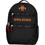 Nike Iowa State Cyclones Utility Heat Black Backpack