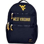 Nike West Virginia Mountaineers Blue Utility Heat Backpack