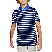 Nike Boys' Dri-FIT Victory Striped Golf Polo