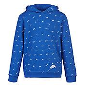 Nike Boys' Sportswear Club Fleece Printed Pullover Hoodie