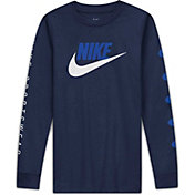 Nike Boys' Sportswear Long Sleeve Shirt (Regular and Extended)