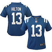 Nike Boys' Indianapolis Colts T.Y. Hilton #13 Blue Game Jersey