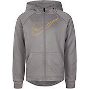 Nike Boys' Emboss Legacy Full Zip Hoodie