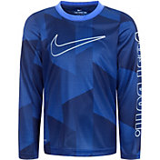 Nike Boys' Dri-FIT Just Do It Long Sleeve T-Shirt