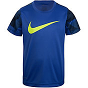 Nike Boys' Dri-FIT AOP Short Sleeve Top