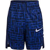 Nike Boys' Dri-FIT Elite AOP Stripe Shorts