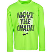 Nike Little Boys' Move the Chains Dri-FIT Long Sleeve Shirt