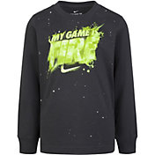 Nike Boys' My Game is Fire Long Sleeve T-Shirt