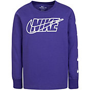 Nike Little Boys' Interlaced Block Swoosh Long Sleeve Shirt