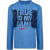 Nike Little Boys' True to My Game Long Sleeve Shirt