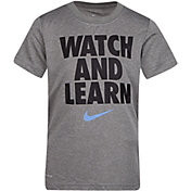 Nike Boys' Watch and Learn Short Sleeve T-Shirt