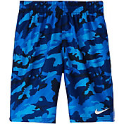 Nike Boys' Camo Lap Volley Swim Trunks