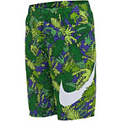 "Nike Boy's Fern Swoosh Packable 8"" Volley Shorts"