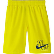Nike Boys' Logo Solid Lap Volley Swim Trunks