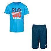 Nike Boys' Play Big Short Sleeve Tee and Short Set