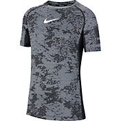 Nike Boys' Pro Printed Training Top