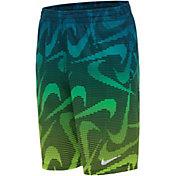 Nike Boys' Pixel Swoosh Breaker Volley Swim Trunks