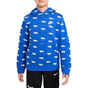 Nike Boys' Sportswear Allover Script Hoodie