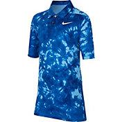 Nike Boys' Dri-FIT Printed Golf Polo