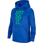 Nike Boys' Therma Just Do It Graphic Hoodie