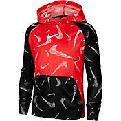 Nike Boys' Therma Printed Training Hoodie