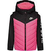 Nike Girl's Colorblock Padded Jacket