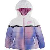 Nike Girls' Colorblock Puffer Jacket