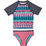 Nike Girl's Clash Crop Top Bikini Set